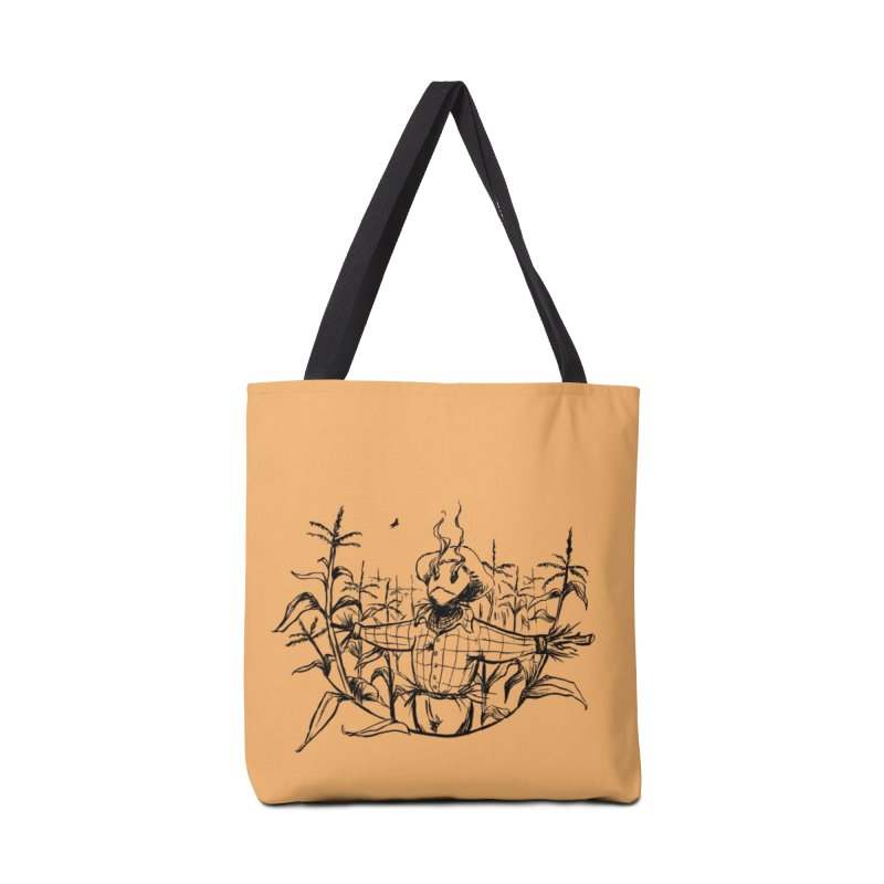 Smoke in the Fields Accessories Tote Bag Bag by lysandraws presents: crass commercialism!