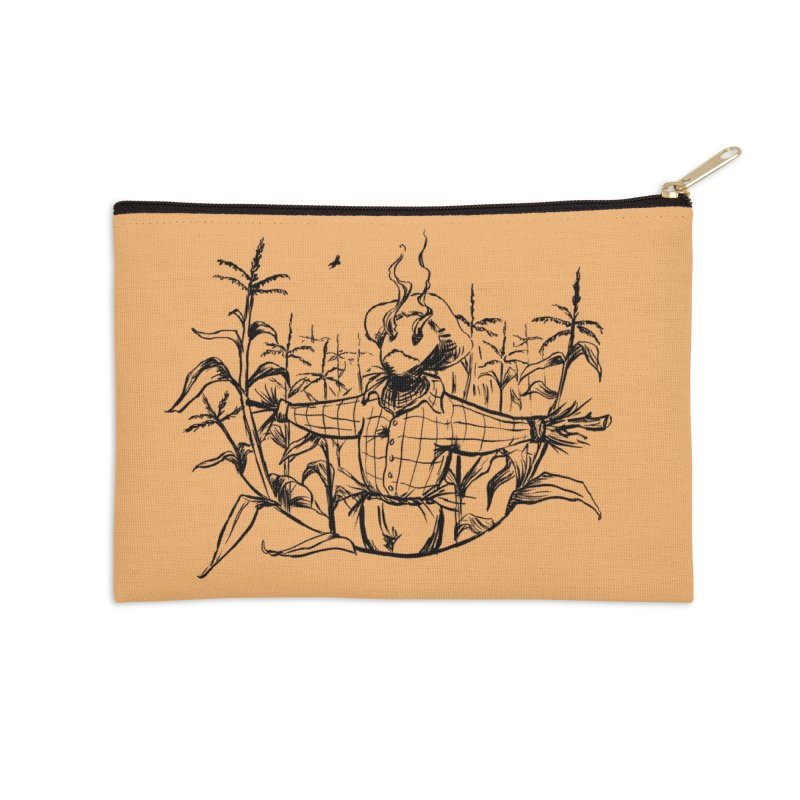 Smoke in the Fields Accessories Zip Pouch by lysandraws presents: crass commercialism!