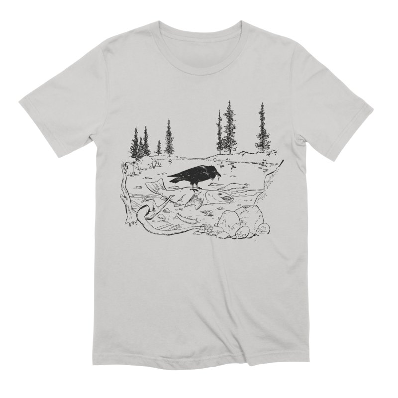 The Feast of the Spawning Men's Extra Soft T-Shirt by lysandraws presents: crass commercialism!