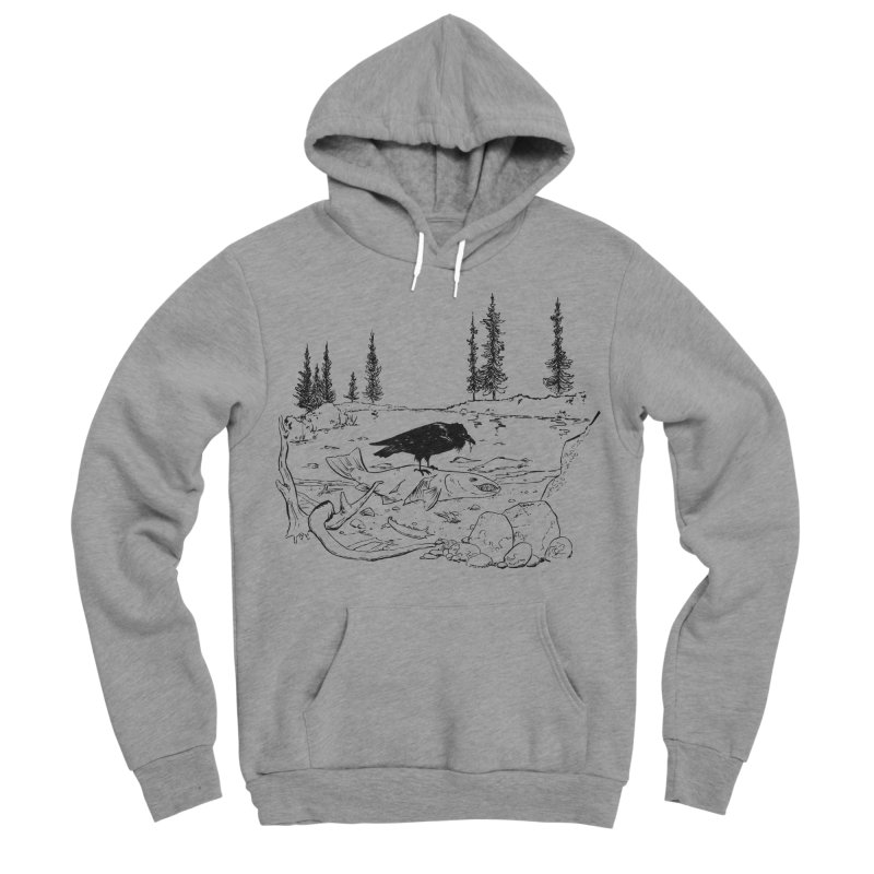 The Feast of the Spawning Men's Sponge Fleece Pullover Hoody by lysandraws presents: crass commercialism!