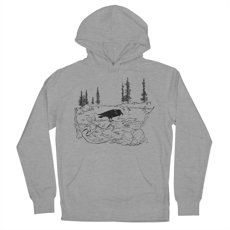 The Feast of the Spawning Men's French Terry Pullover Hoody by lysandraws presents: crass commercialism!