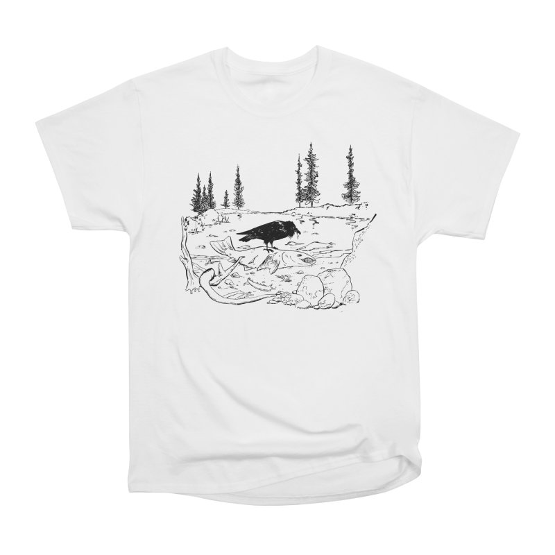 The Feast of the Spawning Women's Heavyweight Unisex T-Shirt by lysandraws presents: crass commercialism!