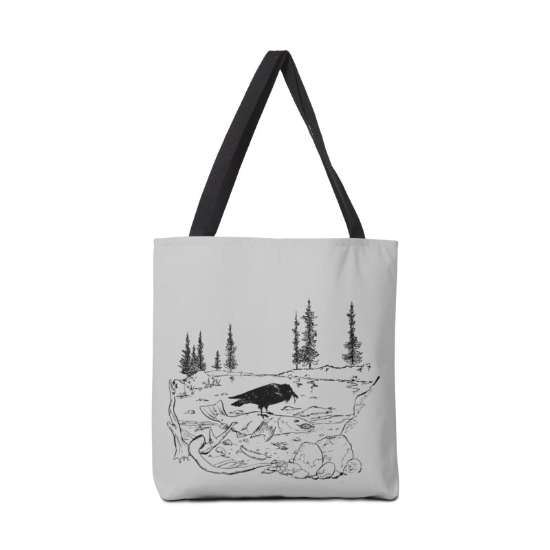 The Feast of the Spawning Accessories Tote Bag Bag by lysandraws presents: crass commercialism!