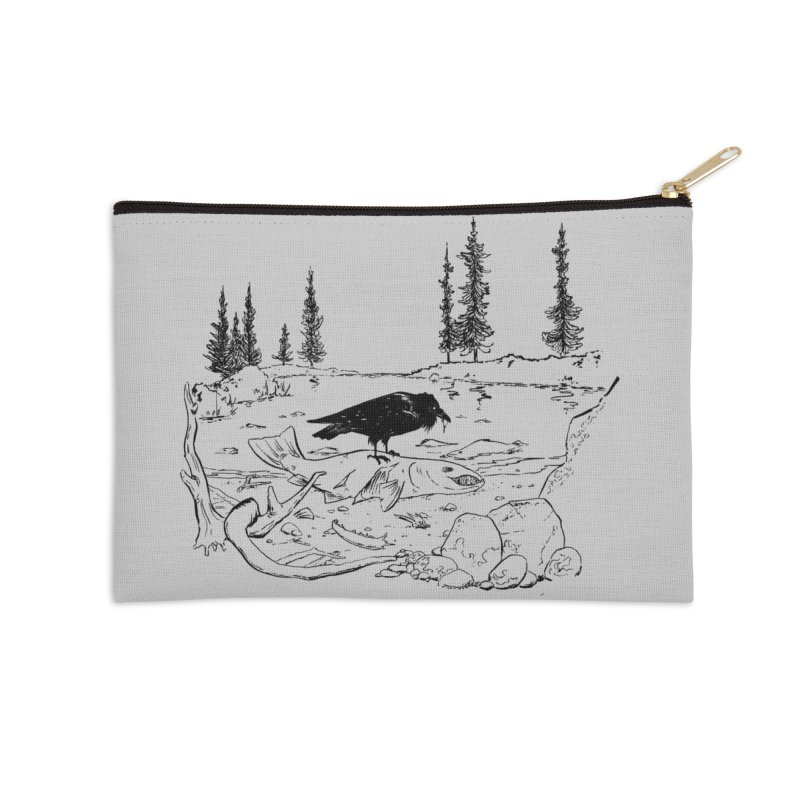 The Feast of the Spawning Accessories Zip Pouch by lysandraws presents: crass commercialism!