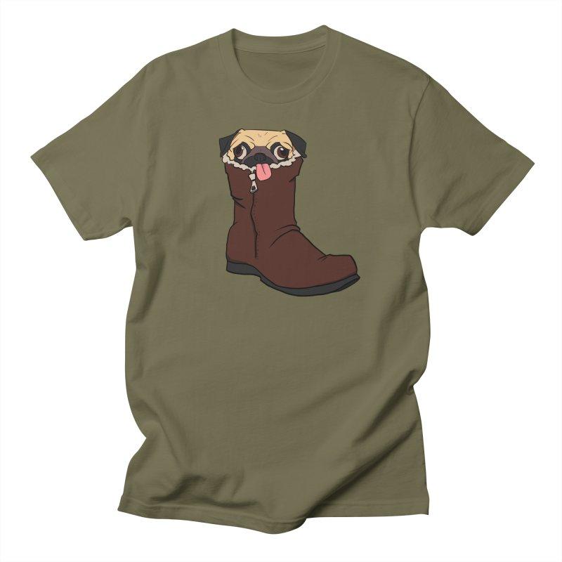 He Snugg Women's Regular Unisex T-Shirt by lysandraws presents: crass commercialism!