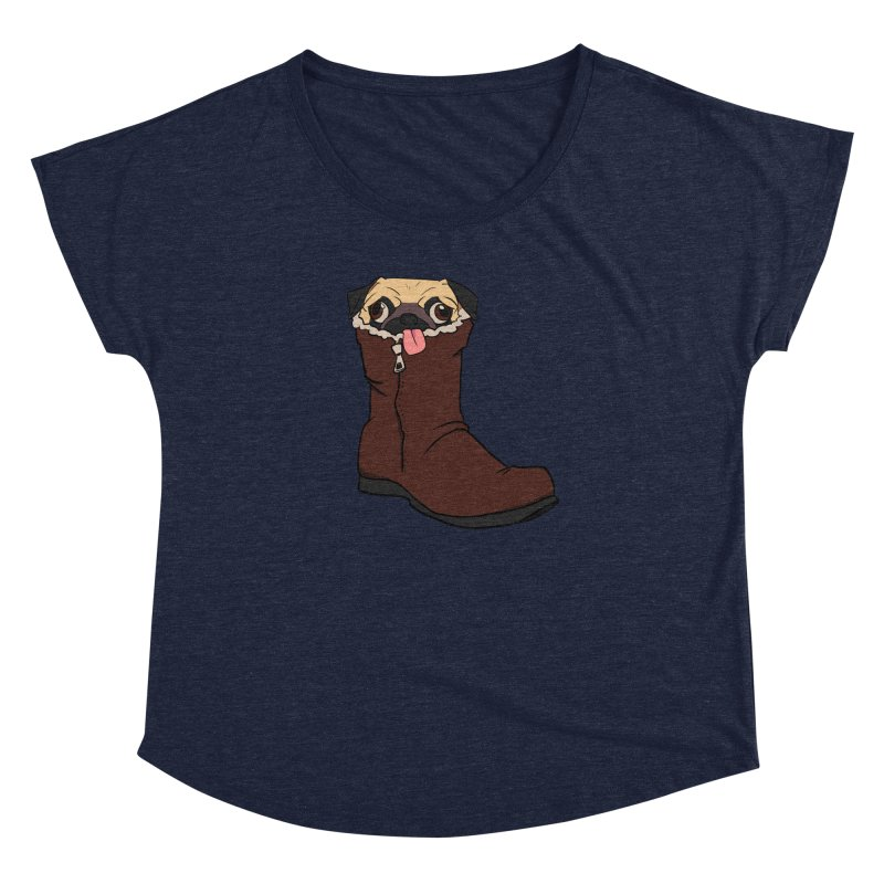 He Snugg Women's Dolman Scoop Neck by lysandraws presents: crass commercialism!