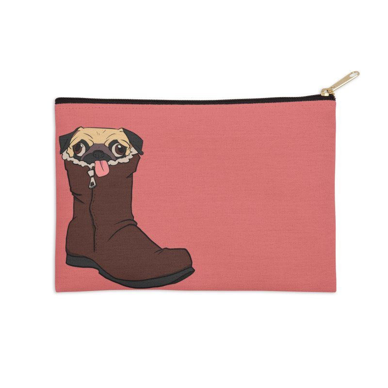 He Snugg Accessories Zip Pouch by lysandraws presents: crass commercialism!