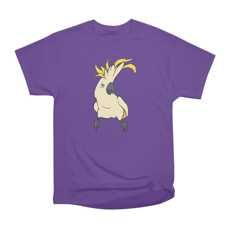 Fancy Boy Women's Heavyweight Unisex T-Shirt by lysandraws presents: crass commercialism!