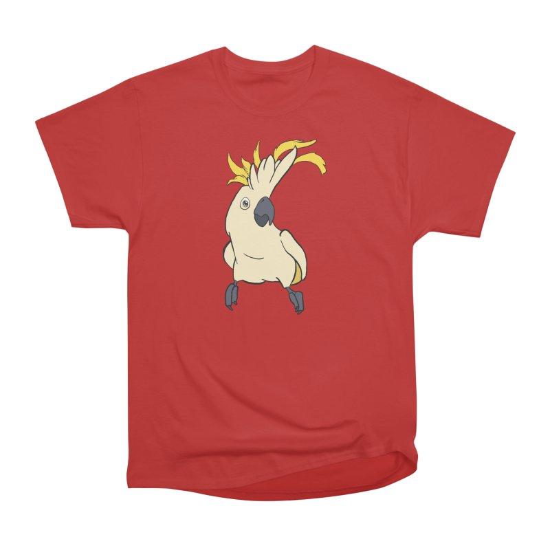 Fancy Boy Men's Heavyweight T-Shirt by lysandraws presents: crass commercialism!