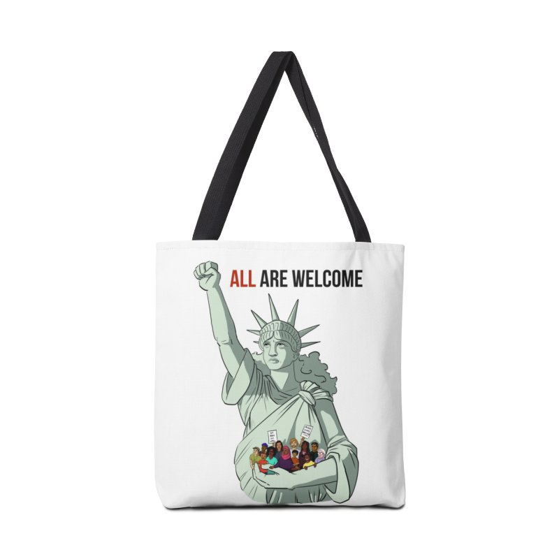 Mother of Exiles Accessories Tote Bag Bag by lysandraws presents: crass commercialism!