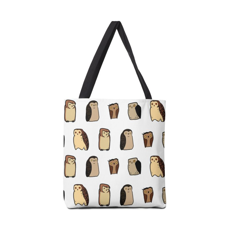 Owl Gang Accessories Tote Bag Bag by lysandraws presents: crass commercialism!