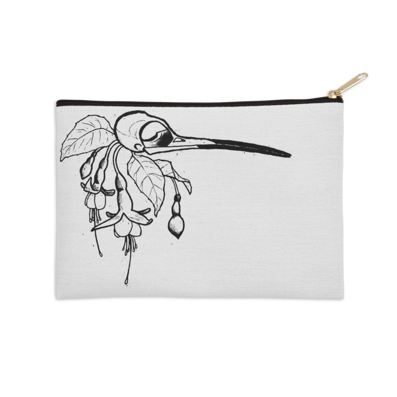 Sweet Release Accessories Zip Pouch by lysandraws presents: crass commercialism!