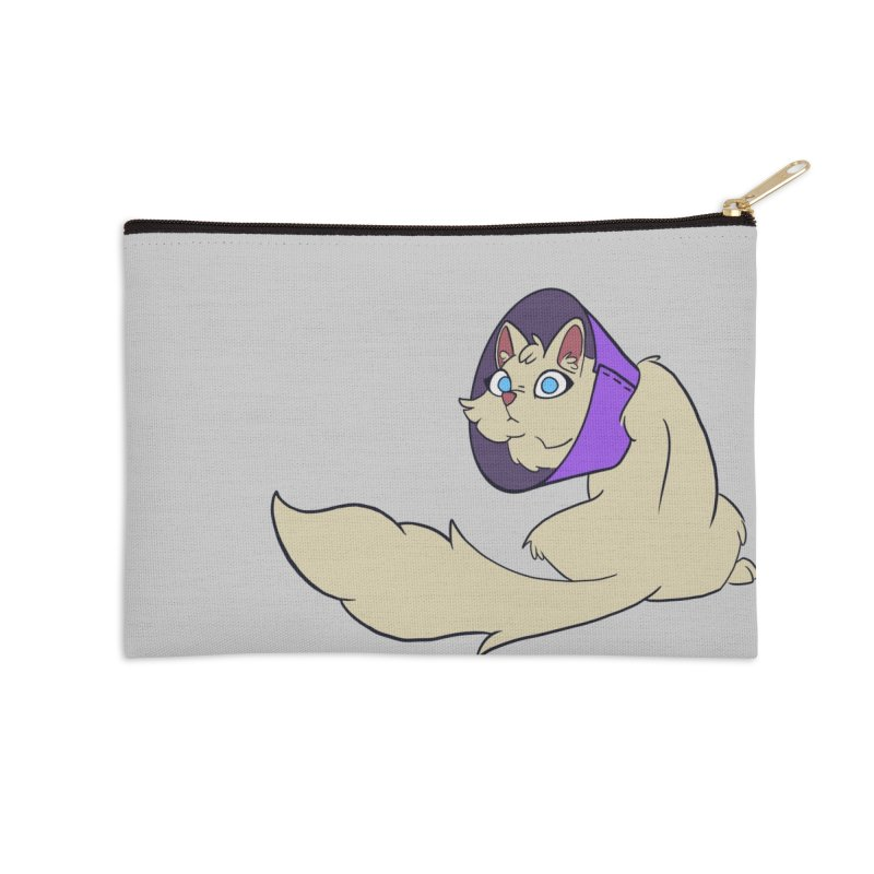 Duchess Fluffington III Accessories Zip Pouch by lysandraws presents: crass commercialism!