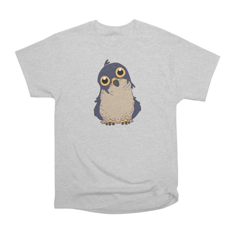 Derpy Falcon Women's Heavyweight Unisex T-Shirt by lysandraws presents: crass commercialism!