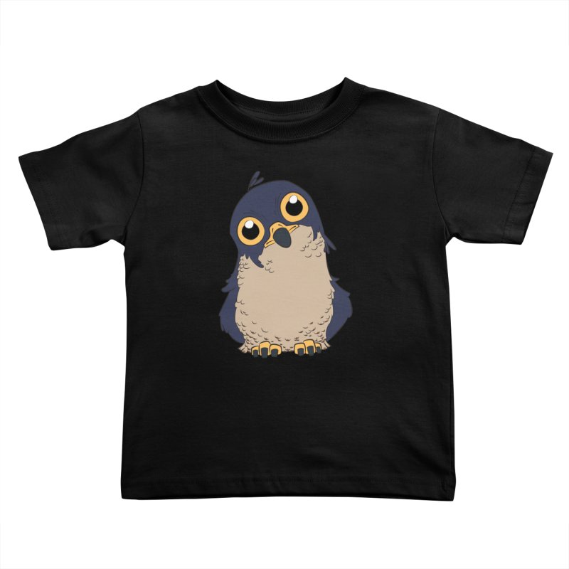 Derpy Falcon Kids Toddler T-Shirt by lysandraws presents: crass commercialism!