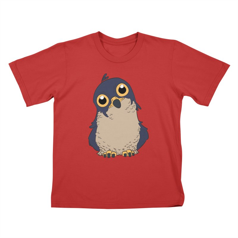 Derpy Falcon Kids T-Shirt by lysandraws presents: crass commercialism!