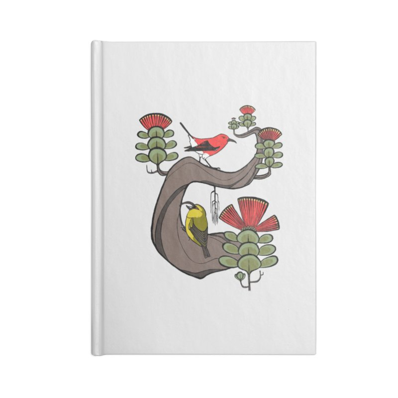 Oh, Hawaii... Accessories Lined Journal Notebook by lysandraws presents: crass commercialism!