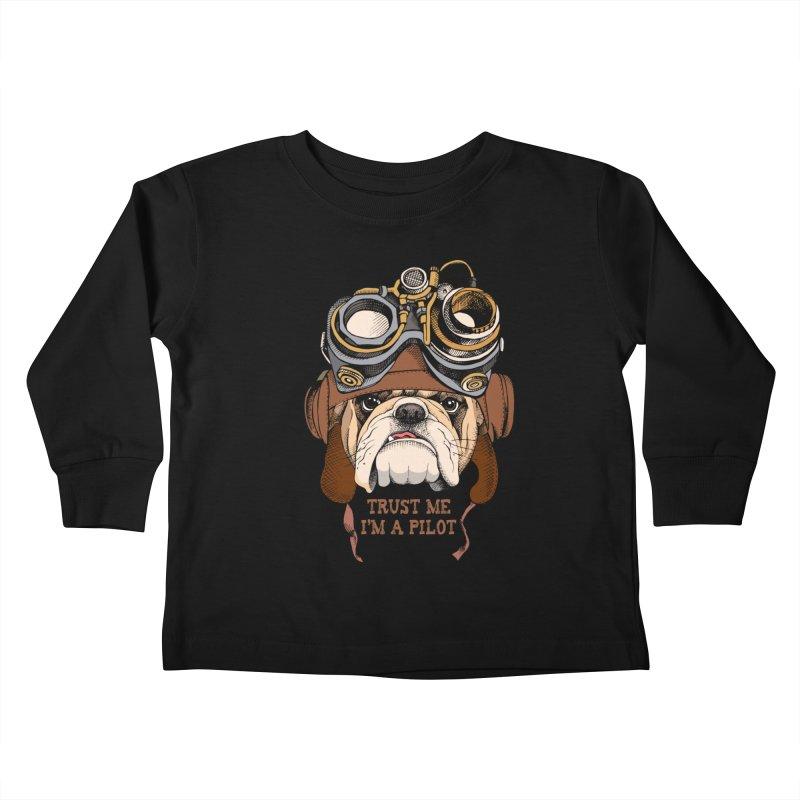 Trust me, I'm a Pilot Kids Toddler Longsleeve T-Shirt by M4tiko's Artist Shop