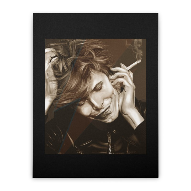 Starman Home Stretched Canvas by M4tiko's Artist Shop