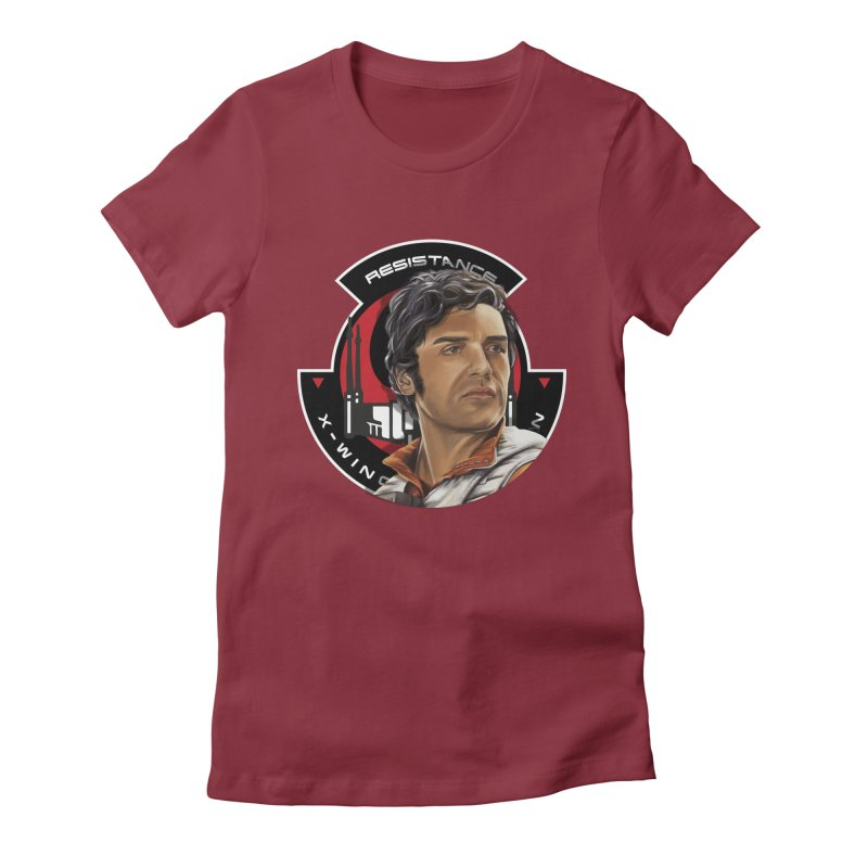 Poe Dameron Women's T-Shirt by M4tiko's Artist Shop