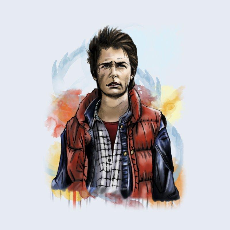 McFly Men's T-Shirt by M4tiko's Artist Shop