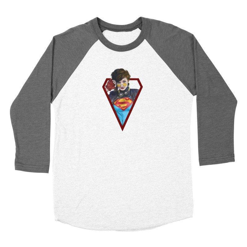 Supergirl Women's Longsleeve T-Shirt by M4tiko's Artist Shop