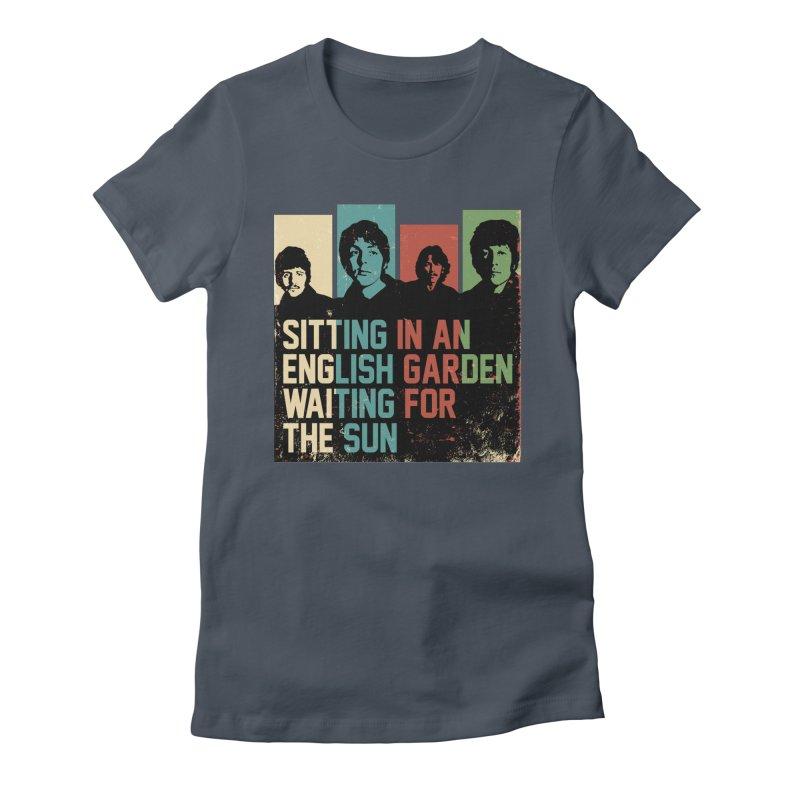 English Garden Women's T-Shirt by M4tiko's Artist Shop