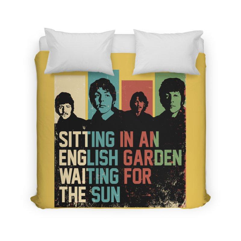 English Garden Home Duvet by M4tiko's Artist Shop