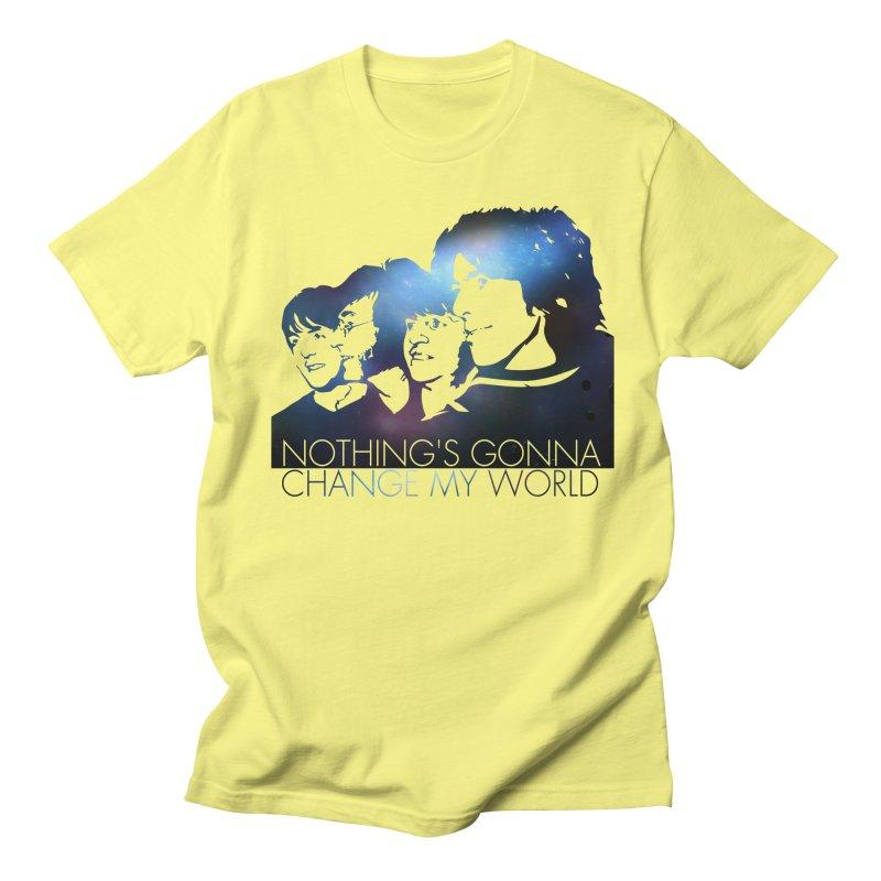 Across the Universe Men's T-Shirt by M4tiko's Artist Shop