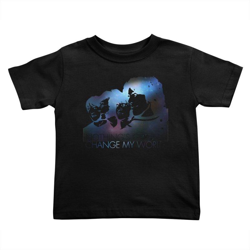 Across the Universe Kids Toddler T-Shirt by M4tiko's Artist Shop