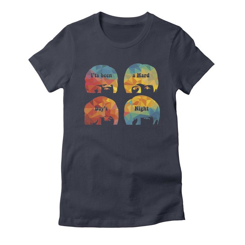 A Hard Day's Night Women's T-Shirt by M4tiko's Artist Shop