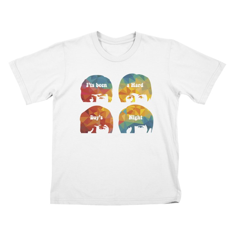 A Hard Day's Night Kids T-Shirt by M4tiko's Artist Shop