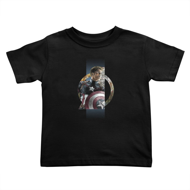 The Cap Kids Toddler T-Shirt by M4tiko's Artist Shop