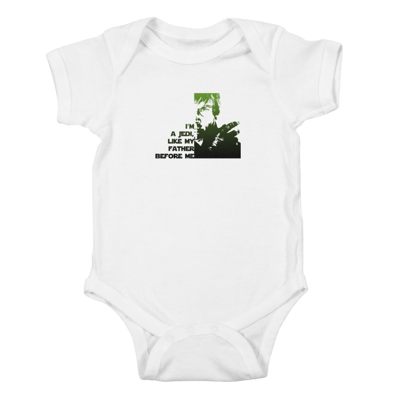 Jedi Kids Baby Bodysuit by M4tiko's Artist Shop