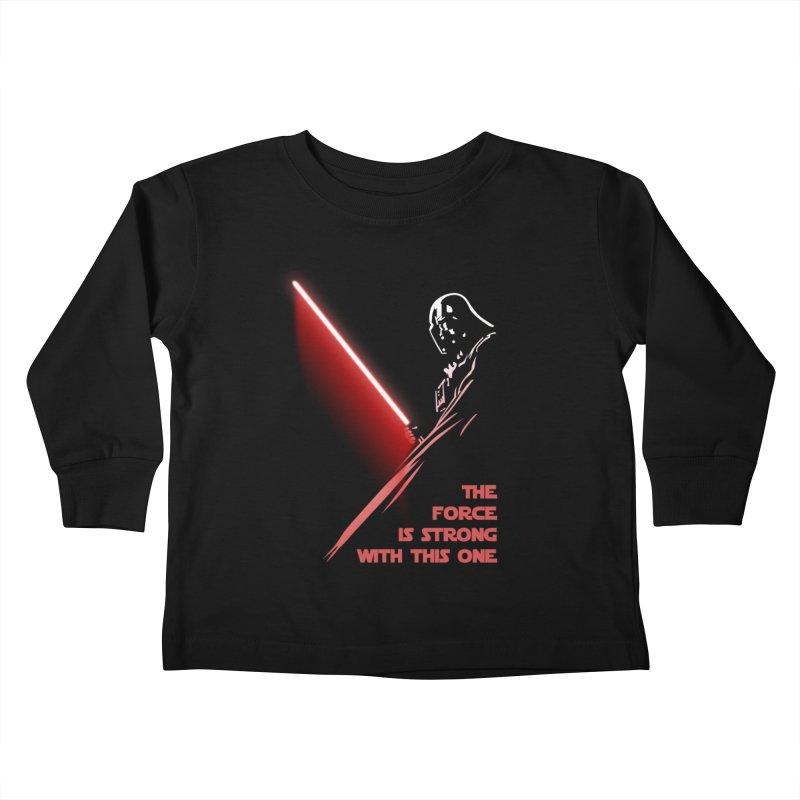 Vader Kids Toddler Longsleeve T-Shirt by M4tiko's Artist Shop