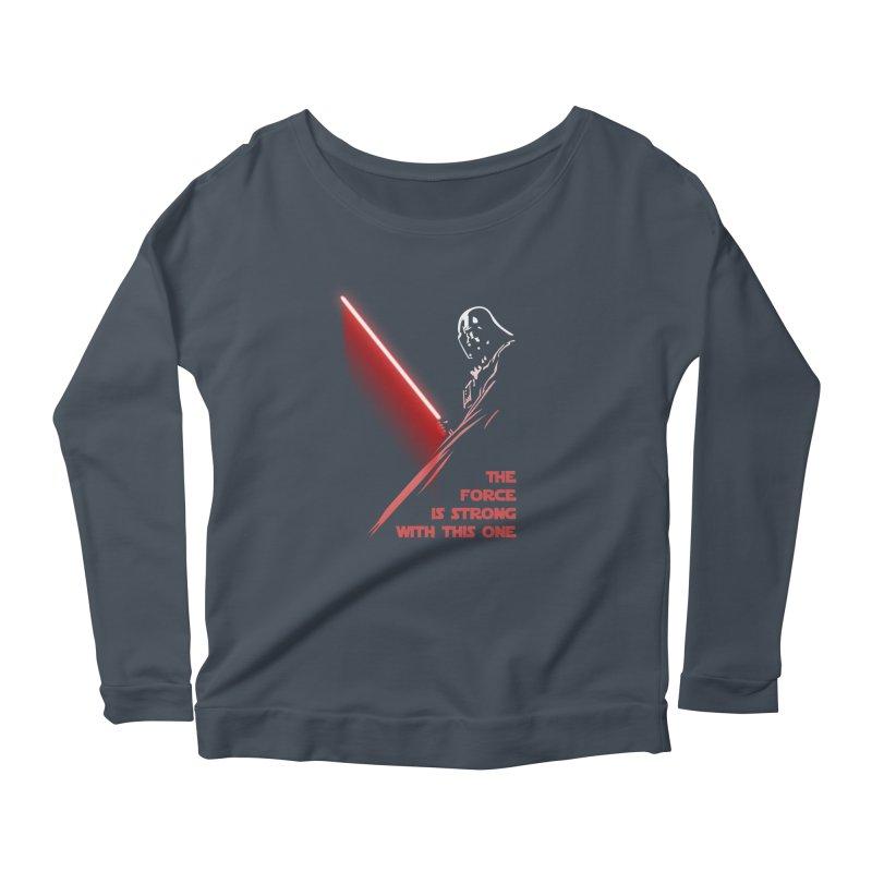 Vader Women's Longsleeve T-Shirt by M4tiko's Artist Shop