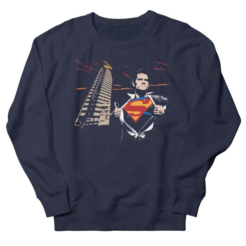 Superman Women's Sweatshirt by M4tiko's Artist Shop