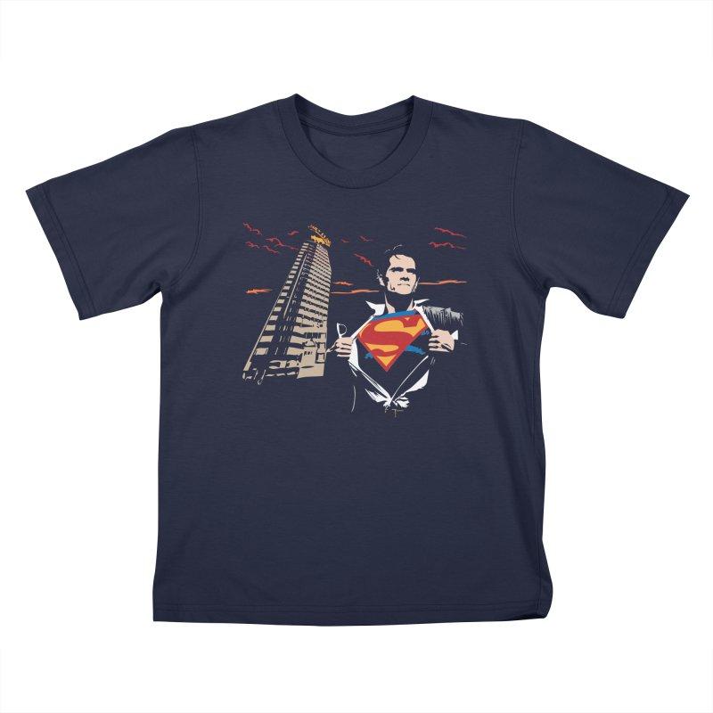 Superman Kids T-Shirt by M4tiko's Artist Shop