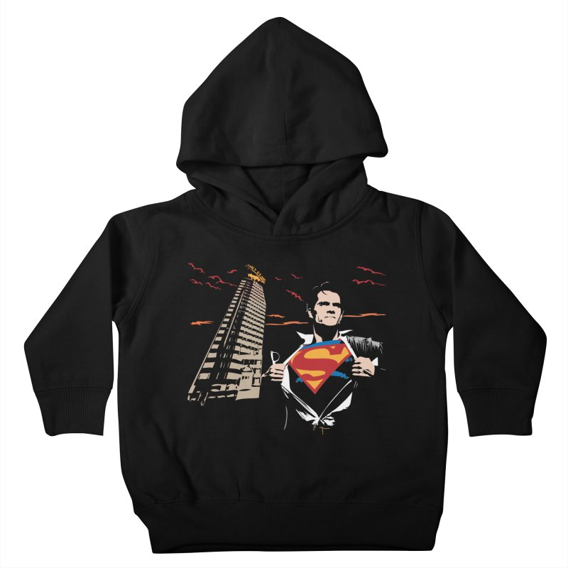 Superman Kids Toddler Pullover Hoody by M4tiko's Artist Shop