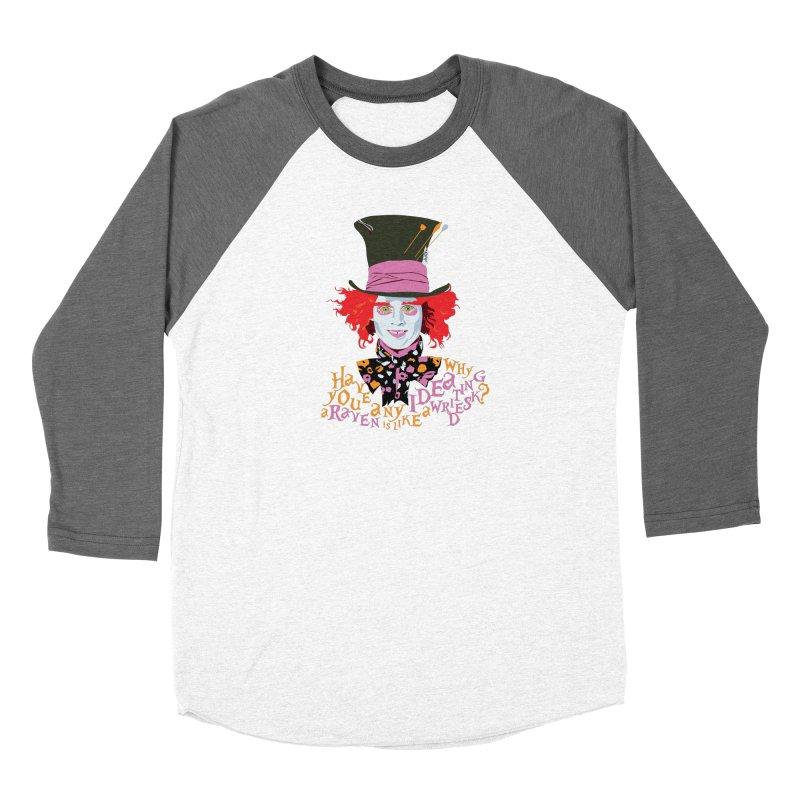 Mad Hatter Women's Longsleeve T-Shirt by M4tiko's Artist Shop