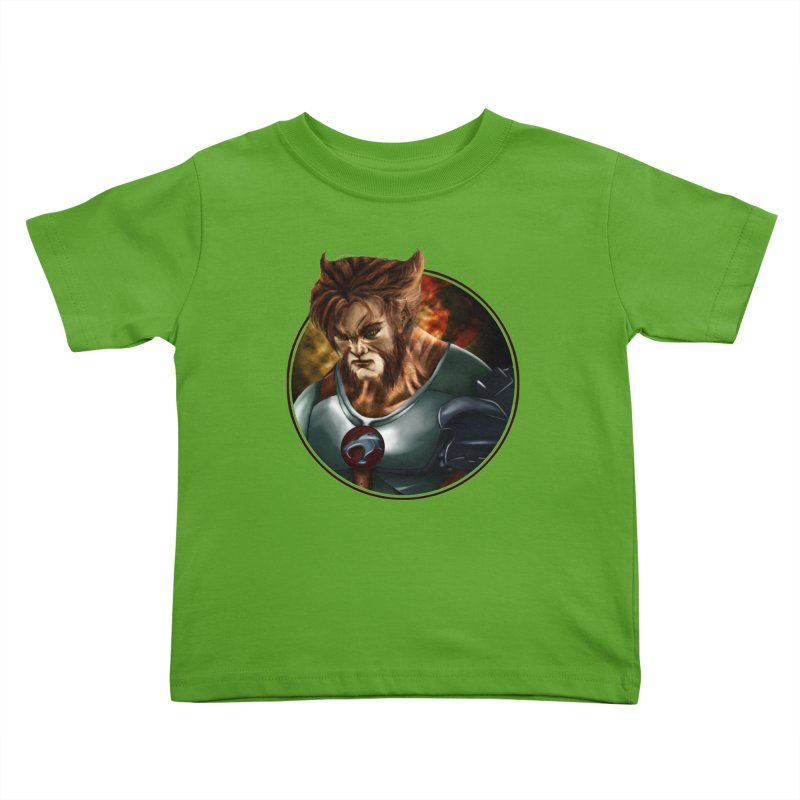 Tygra Kids Toddler T-Shirt by M4tiko's Artist Shop