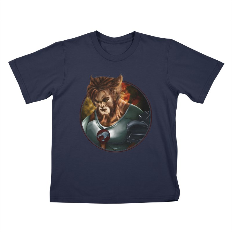 Tygra Kids T-Shirt by M4tiko's Artist Shop