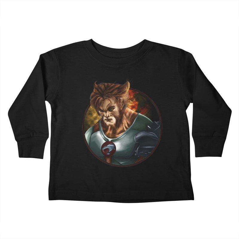 Tygra Kids Toddler Longsleeve T-Shirt by M4tiko's Artist Shop