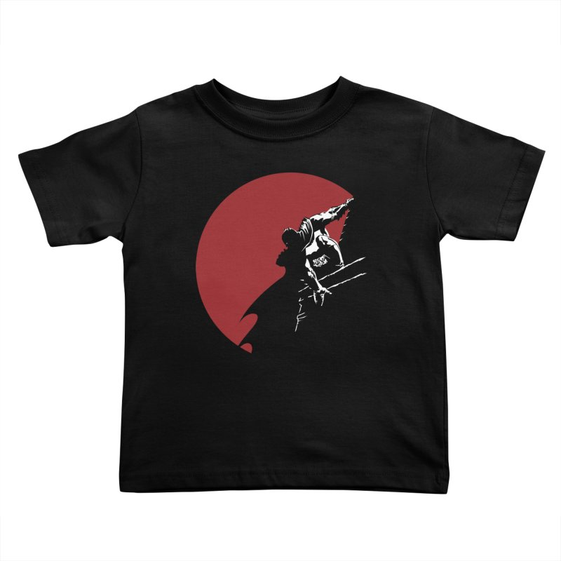 Dark Knight Kids Toddler T-Shirt by M4tiko's Artist Shop