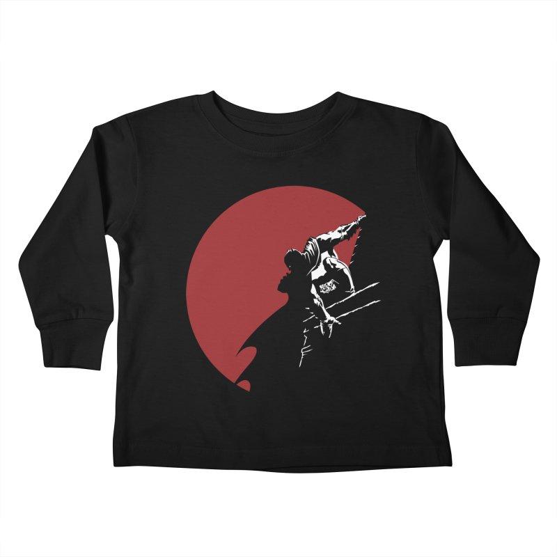 Dark Knight Kids Toddler Longsleeve T-Shirt by M4tiko's Artist Shop