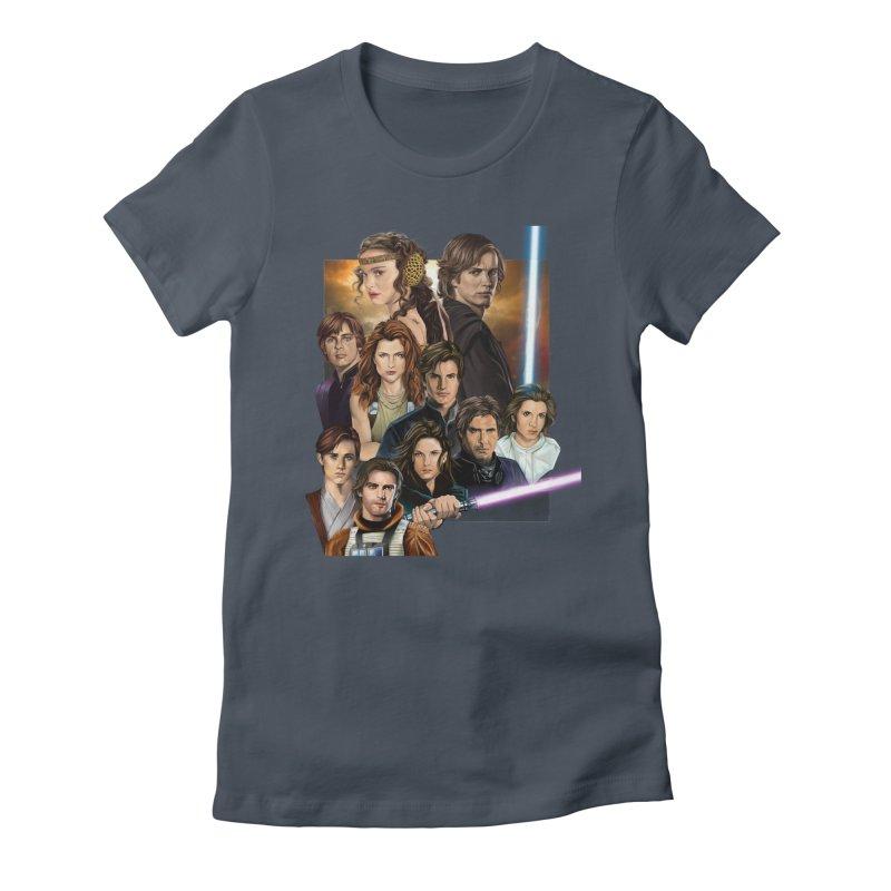 Skywalkers Women's T-Shirt by M4tiko's Artist Shop
