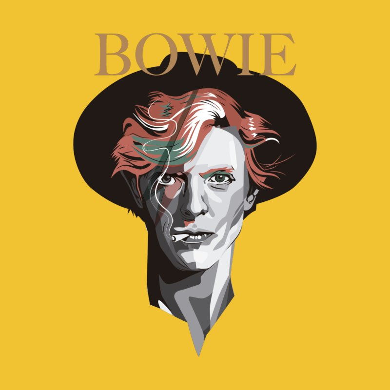 Just Bowie Kids Toddler T-Shirt by M4tiko's Artist Shop