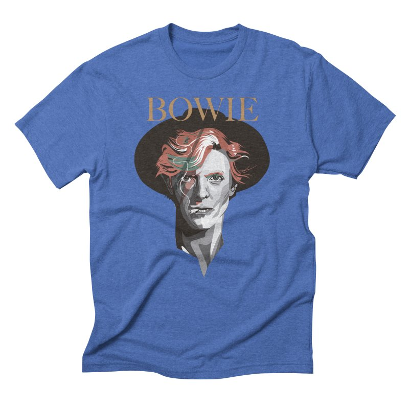 Just Bowie Men's T-Shirt by M4tiko's Artist Shop