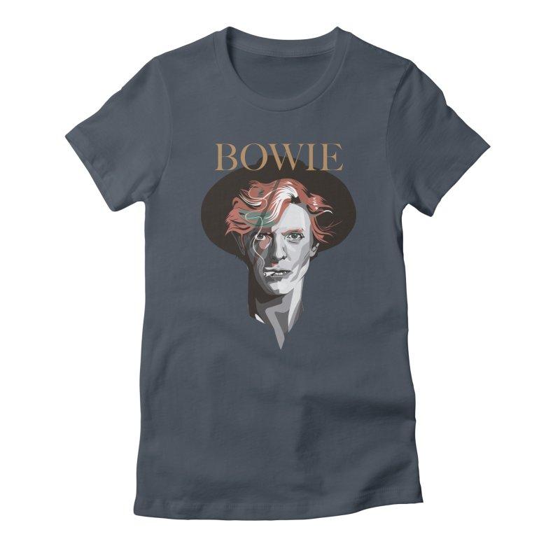 Just Bowie Women's T-Shirt by M4tiko's Artist Shop