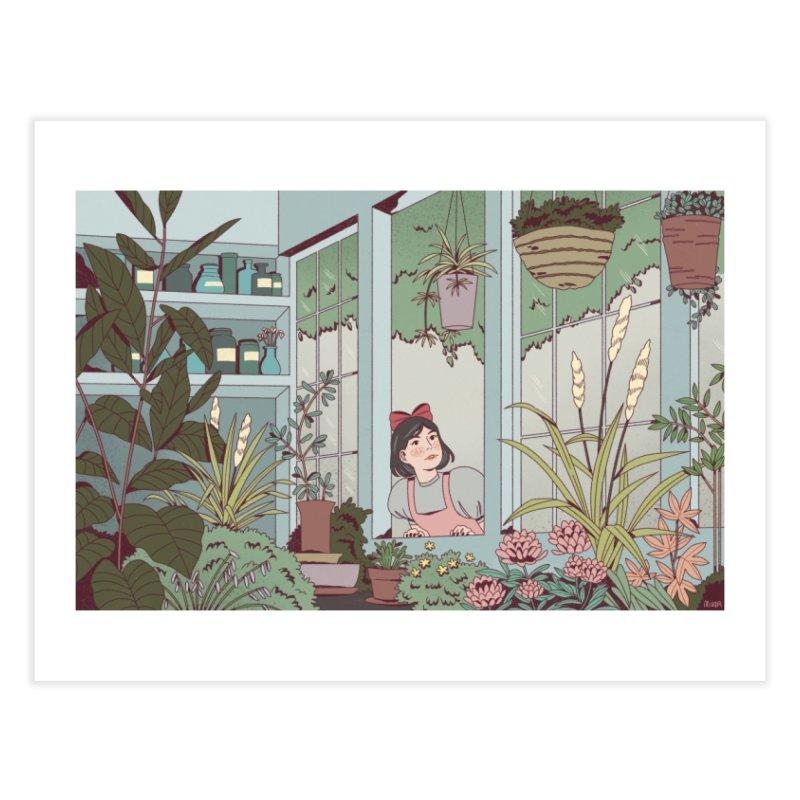 Kiki's Delivery Service Home Fine Art Print by Marta Barrales Illustration